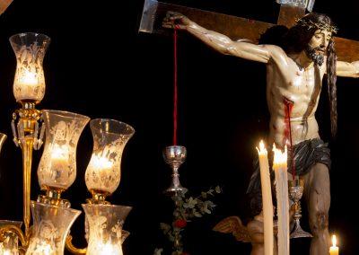 Cristo de la Sangre en su Capilla en la Semana Santa 2021