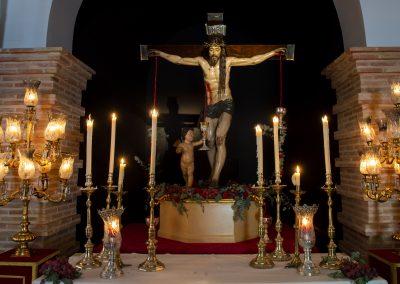 Cristo de la Sangre en su Capilla