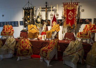 Altar de insignias de la Archicofradía